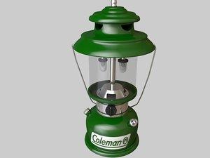 3d model lanterns light equipped