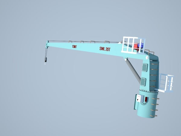 3d crne ship