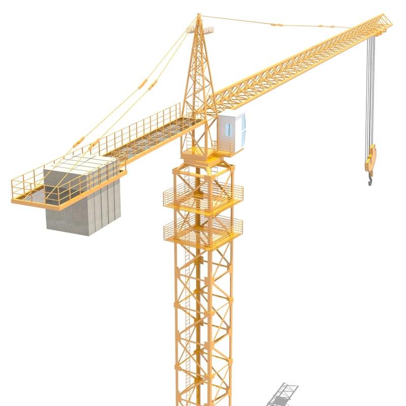 crane animation 3d max