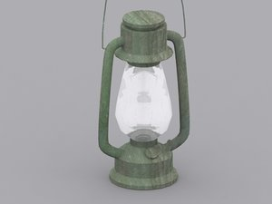 gas lamp 3d max