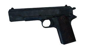 colt 1911 3d blend