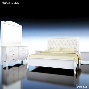 3d bed shett