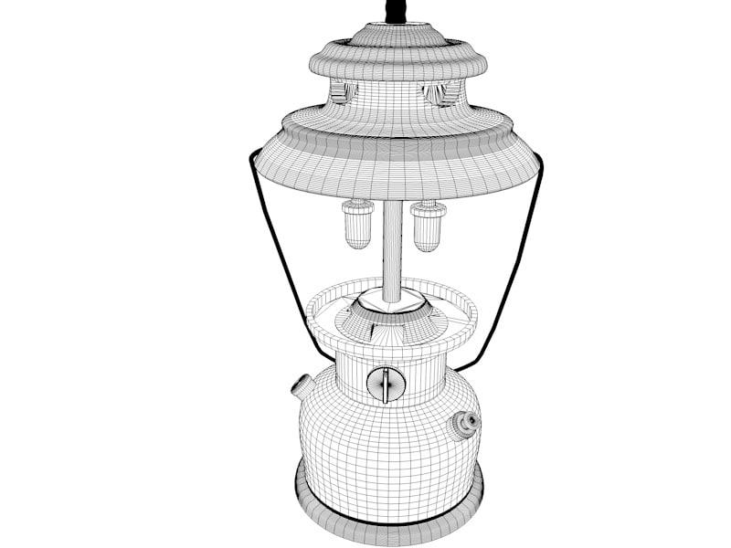 Old Vintage Coleman Lantern