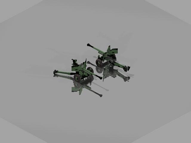 uk gun 3d model