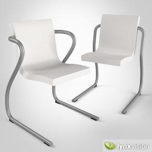 magic chair armchair ross lovegrove 3d max