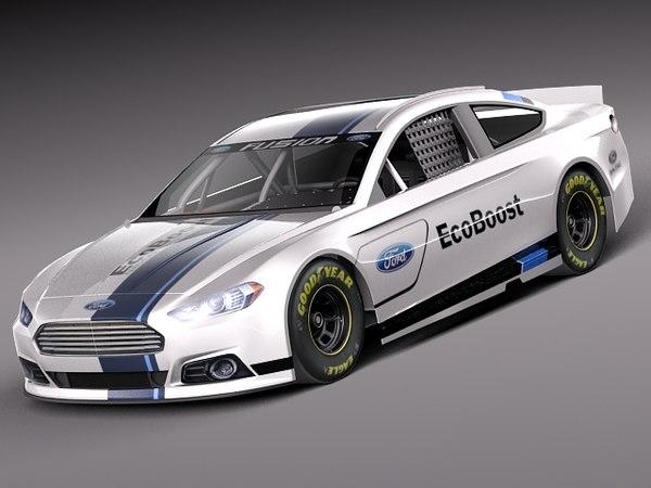 fusion car nascar 2013 max