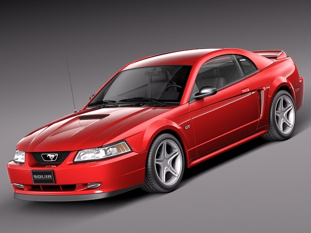 3dsmax muscle car sport coupe