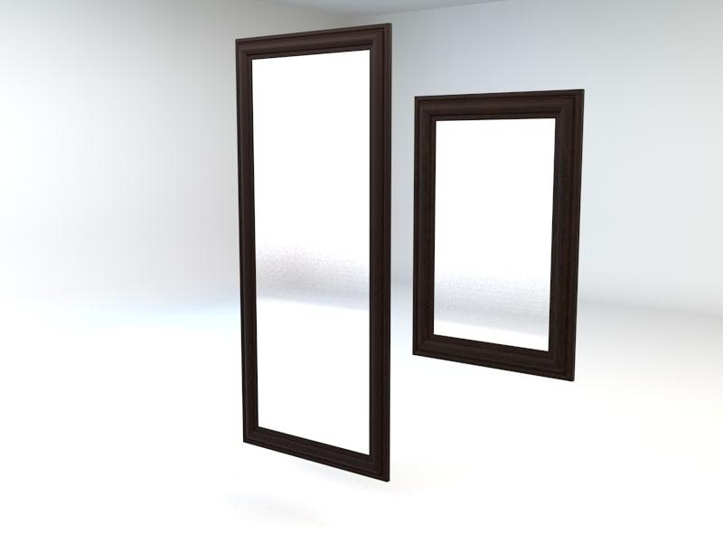 3ds max ikea hemnes bedroom mirror