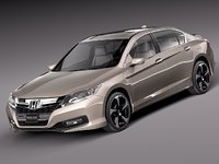 Honda Accord PHEV 2013