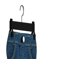 jeans hanger 3d model