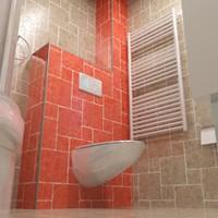 3d 3ds bathroom bath