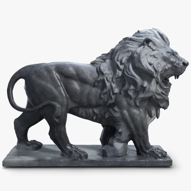 max lion sculpture