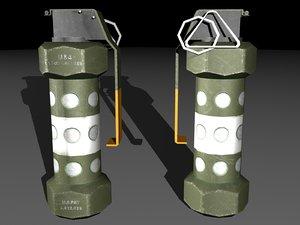 m84 stun grenade 3ds