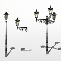 Prague Streetlamps – A set of three