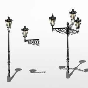 streetlmps prgue - light 3d mx