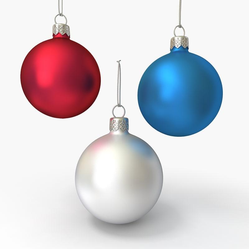 3dsmax christmas ornament