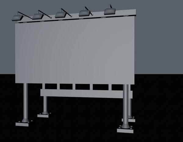 definition billboard 3d model