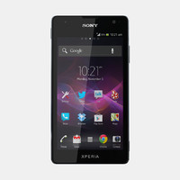 3d max sony xperia tx mobile phone