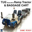 TUG Ramp Tractor & Baggage Cart