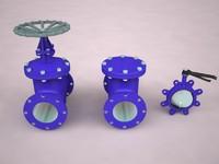 valves 3d model