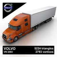 2003 vn truck 3d model