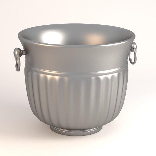 bucket ice 3d 3ds