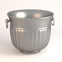 bucket ice 3d 3ds