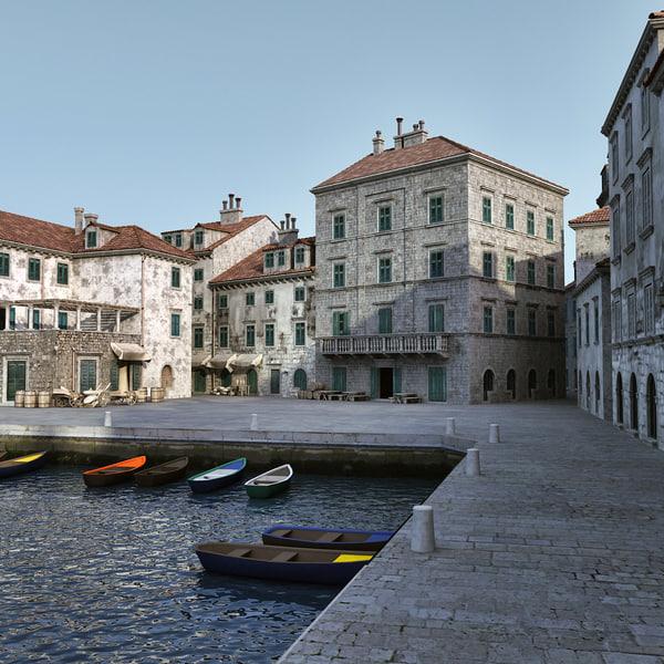 port cities 3d 3ds