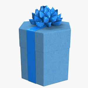 gift boxe 3d fbx