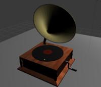 3ds grammophone