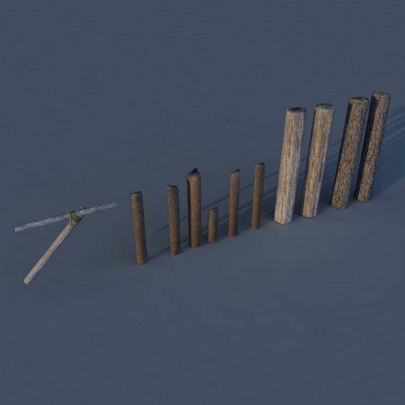3d logs games