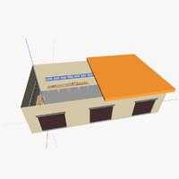 3d model half factory