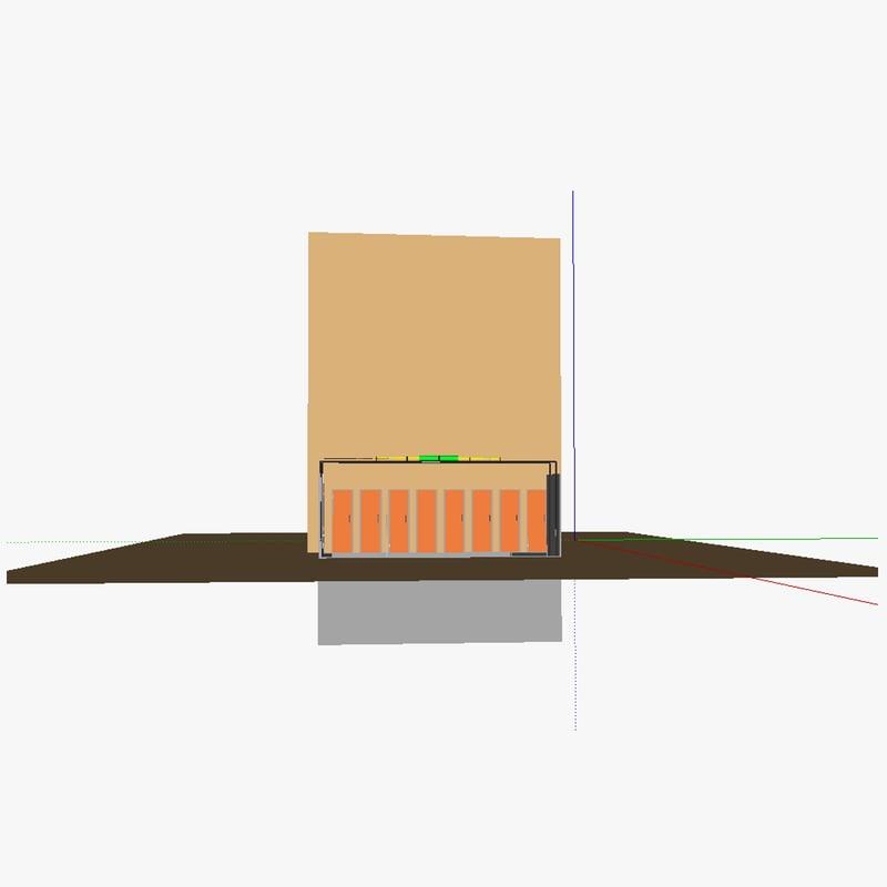 3d kcedw building model