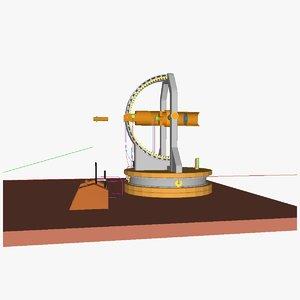 3d telescope ro