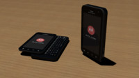 motorola droid 3 3d model