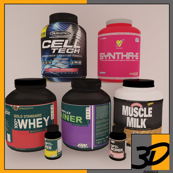 3d model supplement pack 4