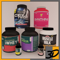 3d model supplement pack 4