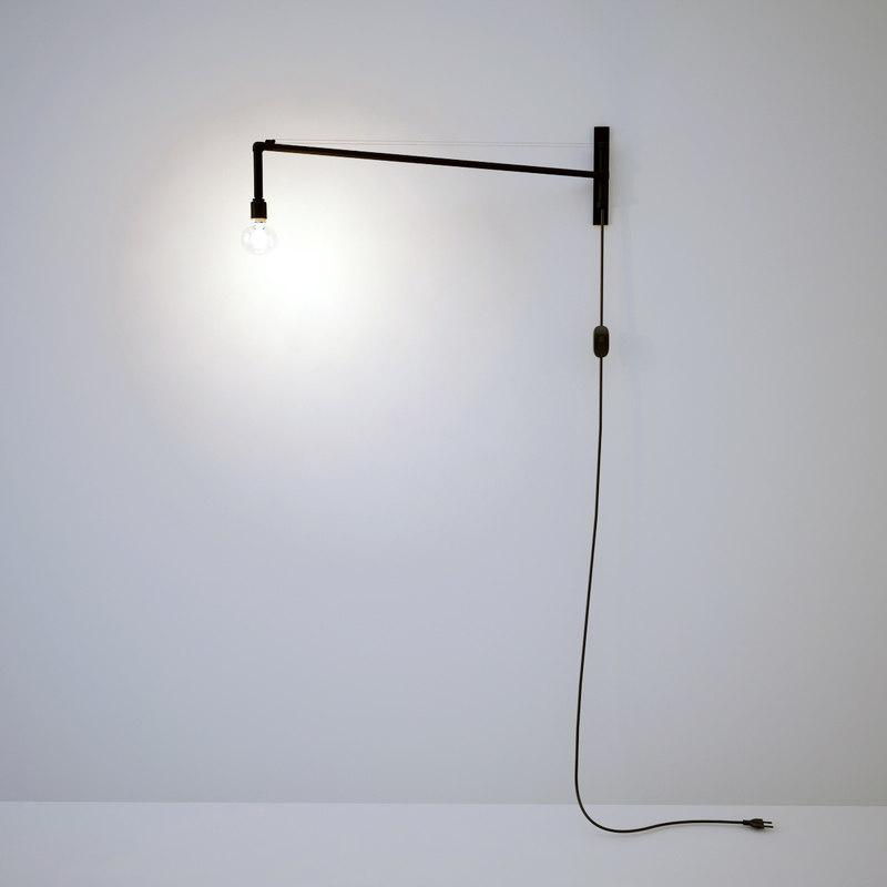 modern wall lamp scandinavian 3d max