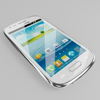 3d samsung galaxy mini siii