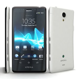 sony xperia t lte 3d model