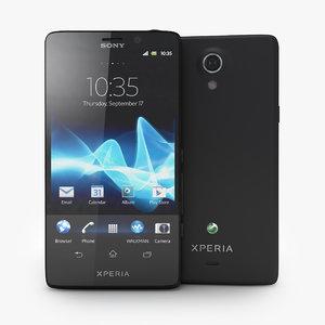 sony xperia t smartphone 3d max