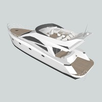 3d model yacht games uv