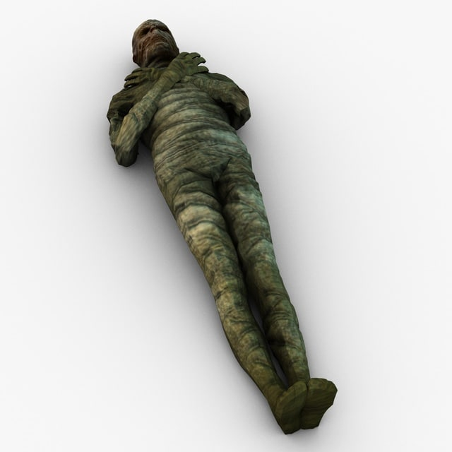 3d model mummy