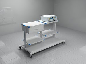 electro surgical unit 3d max
