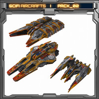 SciFi Aircraft _ Pack 02