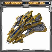 scifi 3d model