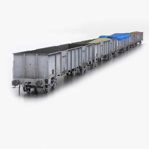 3ds max tcdd eaos-wu gondola wagon
