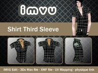 shirt imvu file 3d 3ds