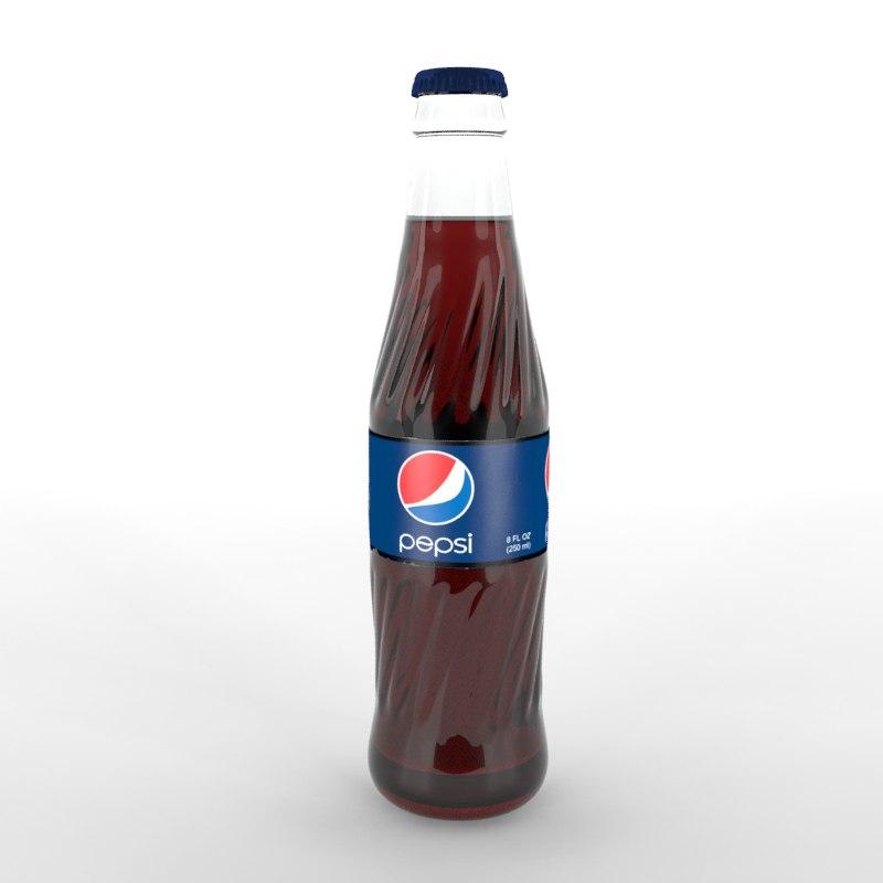 pepsi bottle 3d 3ds