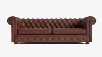 3d chesterfield sofa